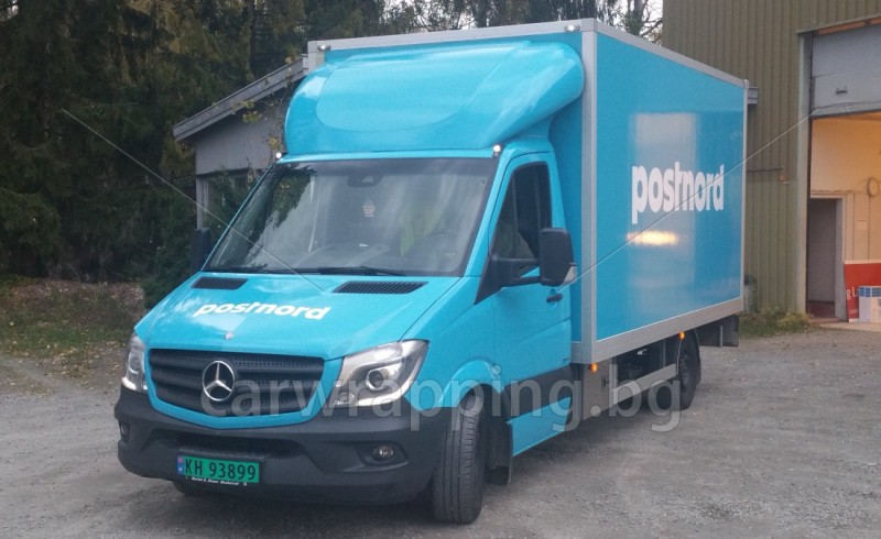 Mercedes Ice car - Postnord - 1