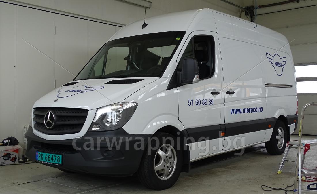 Mercedes Sprinter - Postnord - 2