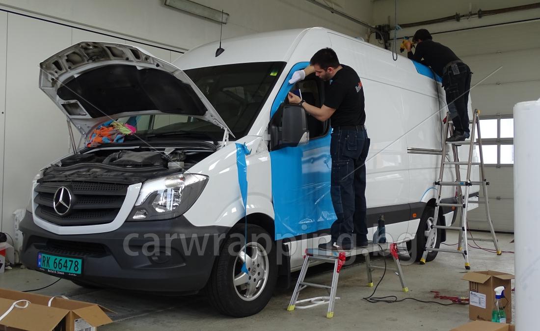 Mercedes Sprinter - Postnord - 3