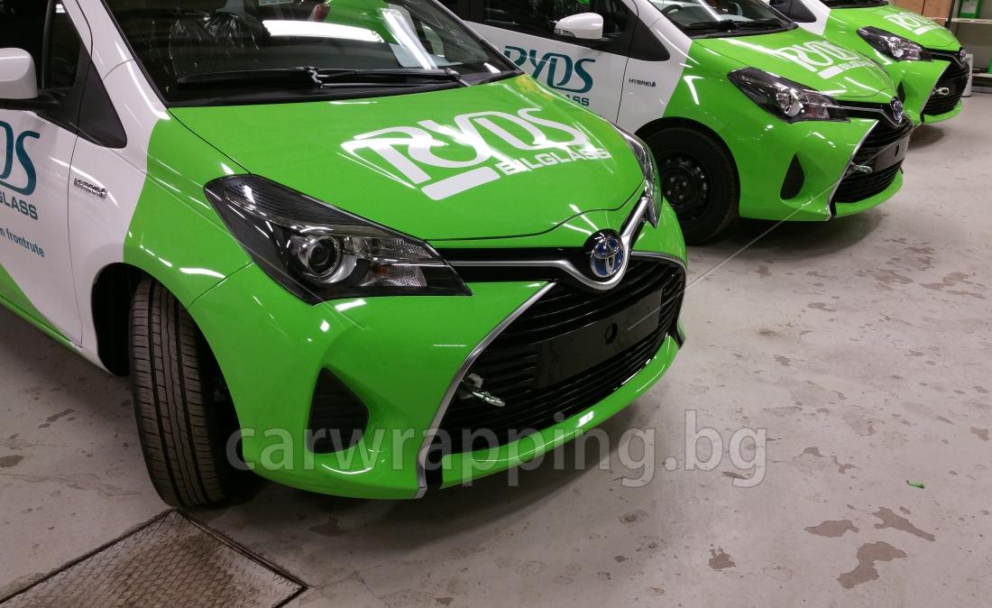 Toyota Yaris - Ryds Bilglass - 21