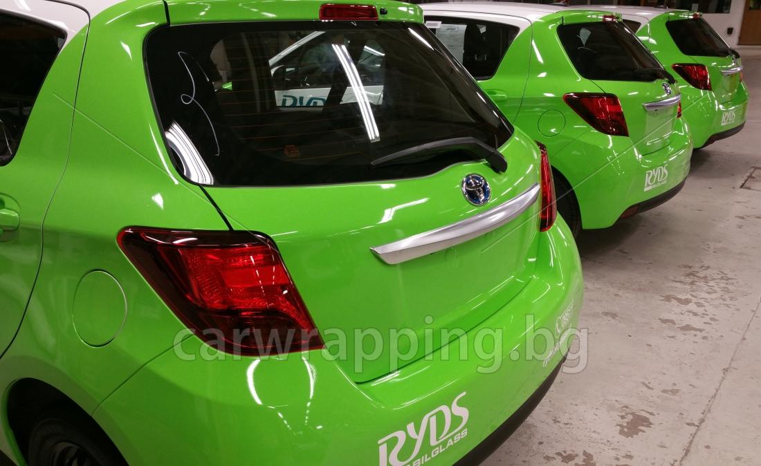 Toyota Yaris - Ryds Bilglass - 23