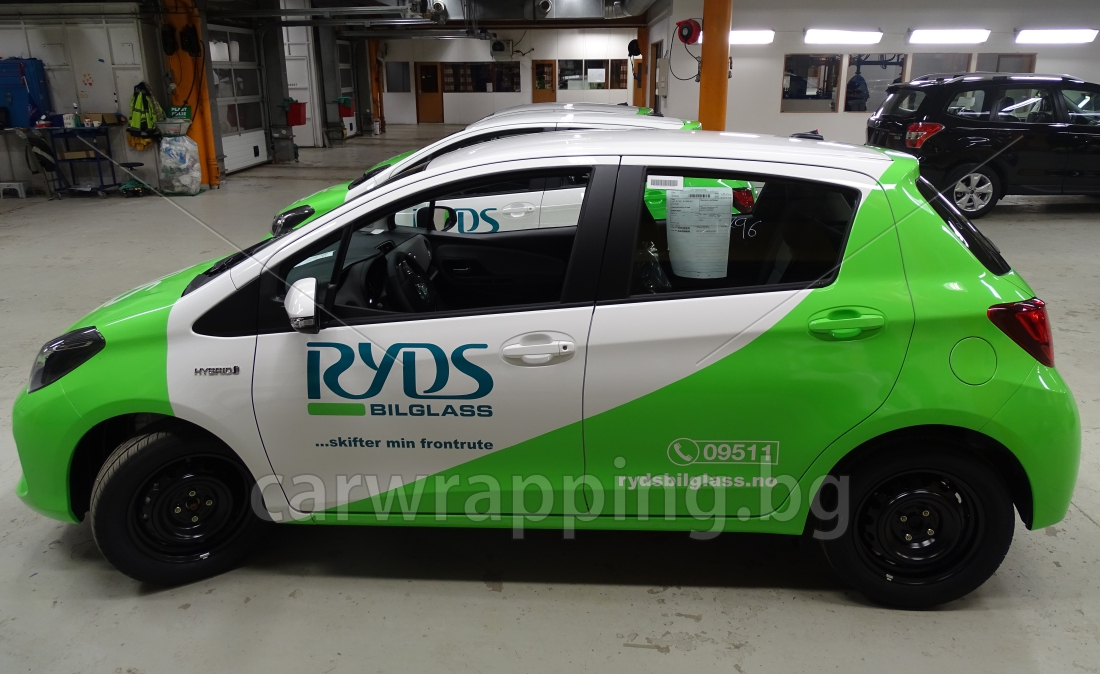 Toyota Yaris - Ryds Bilglass - 28