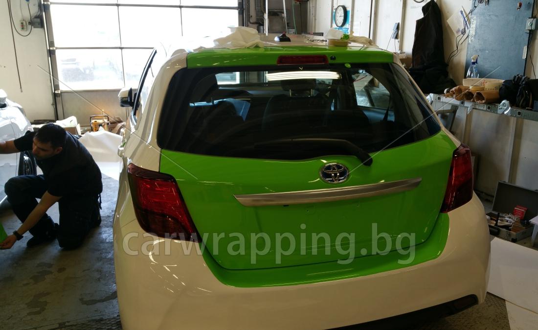 Toyota Yaris - Ryds Bilglass - 3