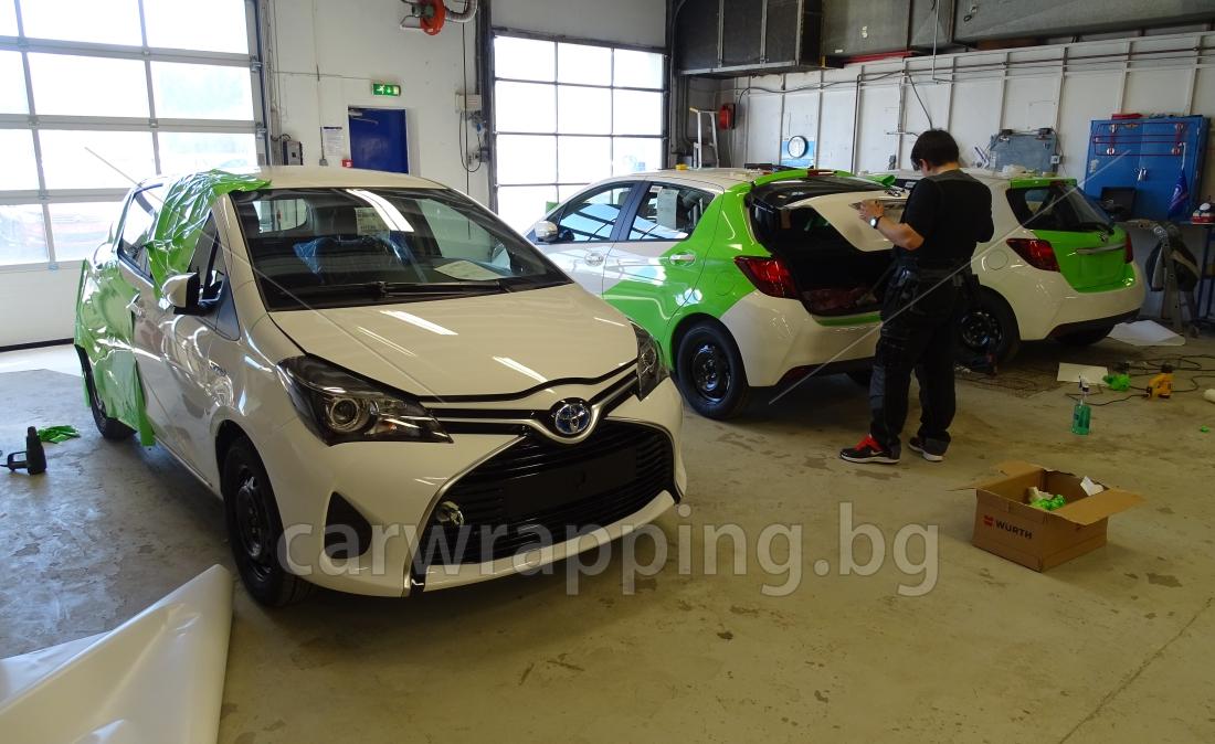 Toyota Yaris - Ryds Bilglass - 7