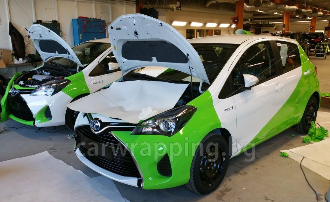 Toyota Yaris - Ryds Bilglass - 9