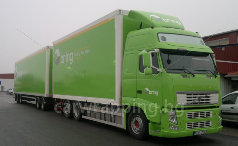 Big trucks and trailers in Sweden - Bring - 1