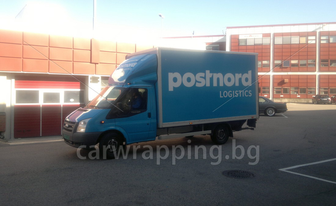 Ford Ice car - Postnord - 10