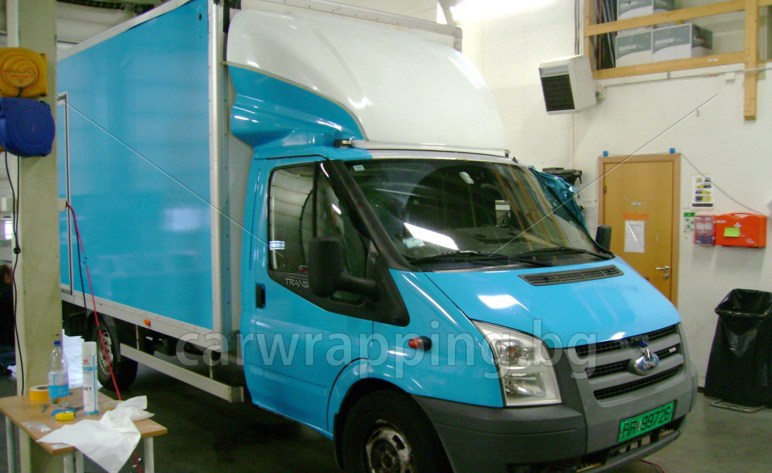Ford Ice car - Postnord - 4