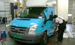 Ford Ice car - Postnord - 5