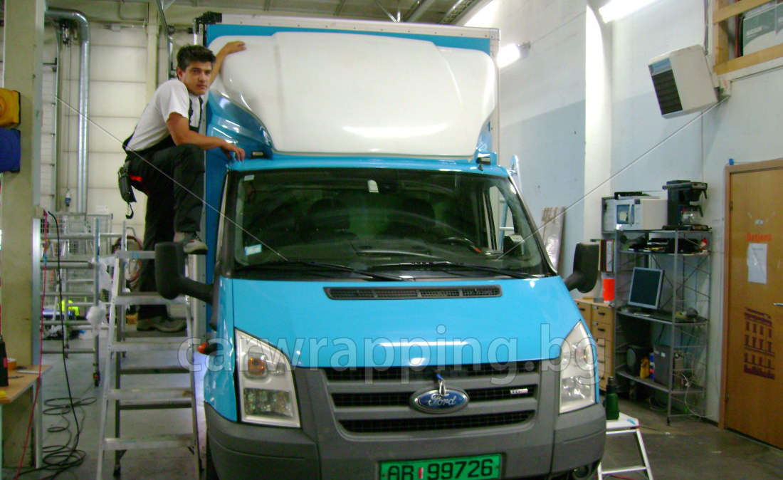 Ford Ice car - Postnord - 6