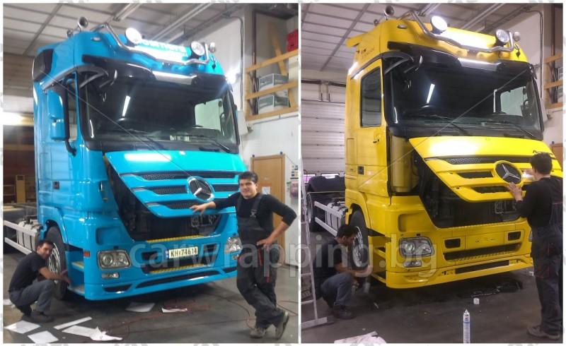 Mercedes Actros - Postnord - 1