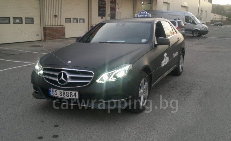 Mercedes - Norges Taxi - 1