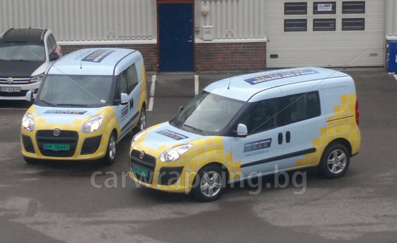 Fiat Doblo - Pizza car - 1