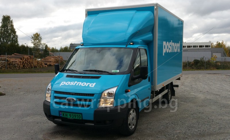 Ford Transit Ice car - Postnord - 1