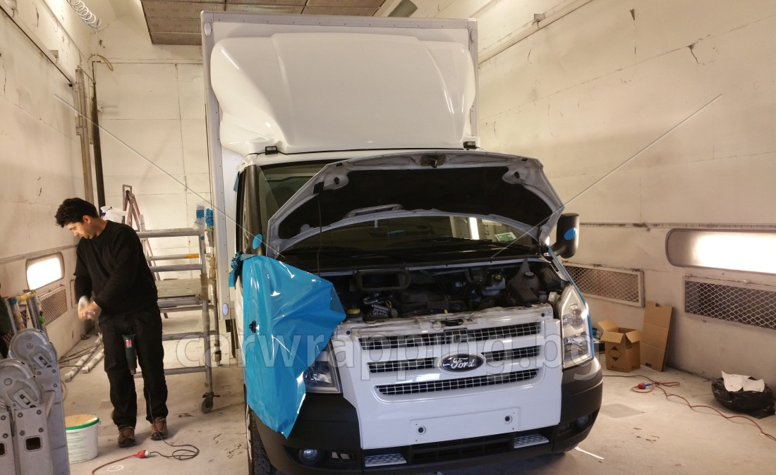 Ford Transit Ice car - Postnord - 3