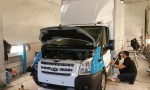 Ford Transit Ice car - Postnord - 4