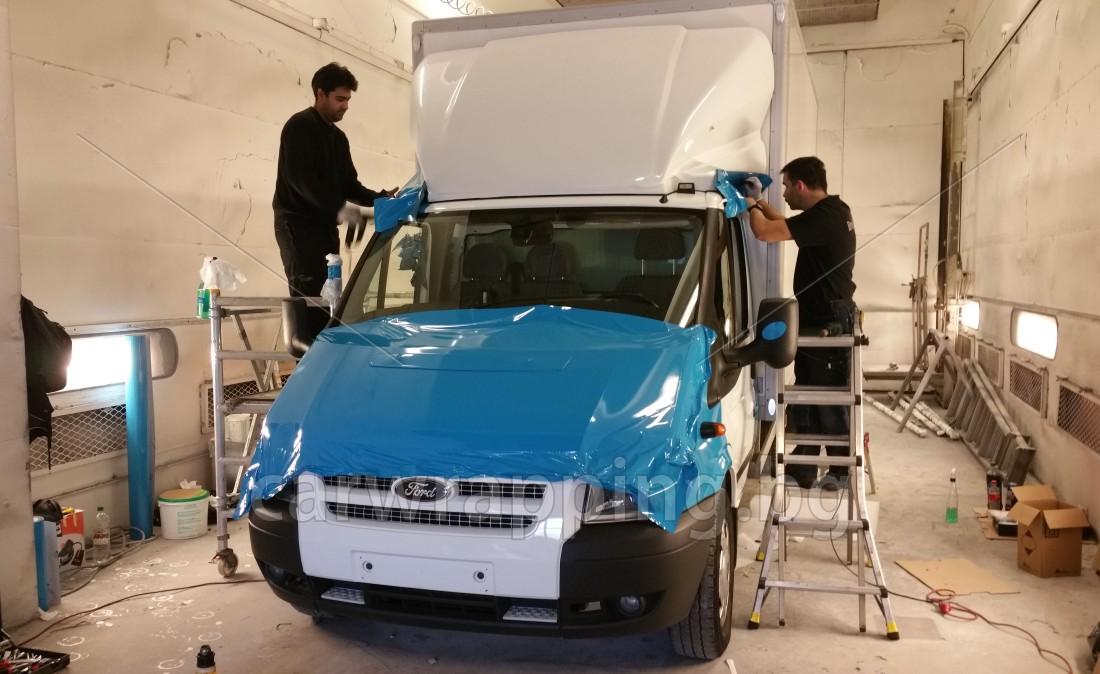 Ford Transit Ice car - Postnord - 5