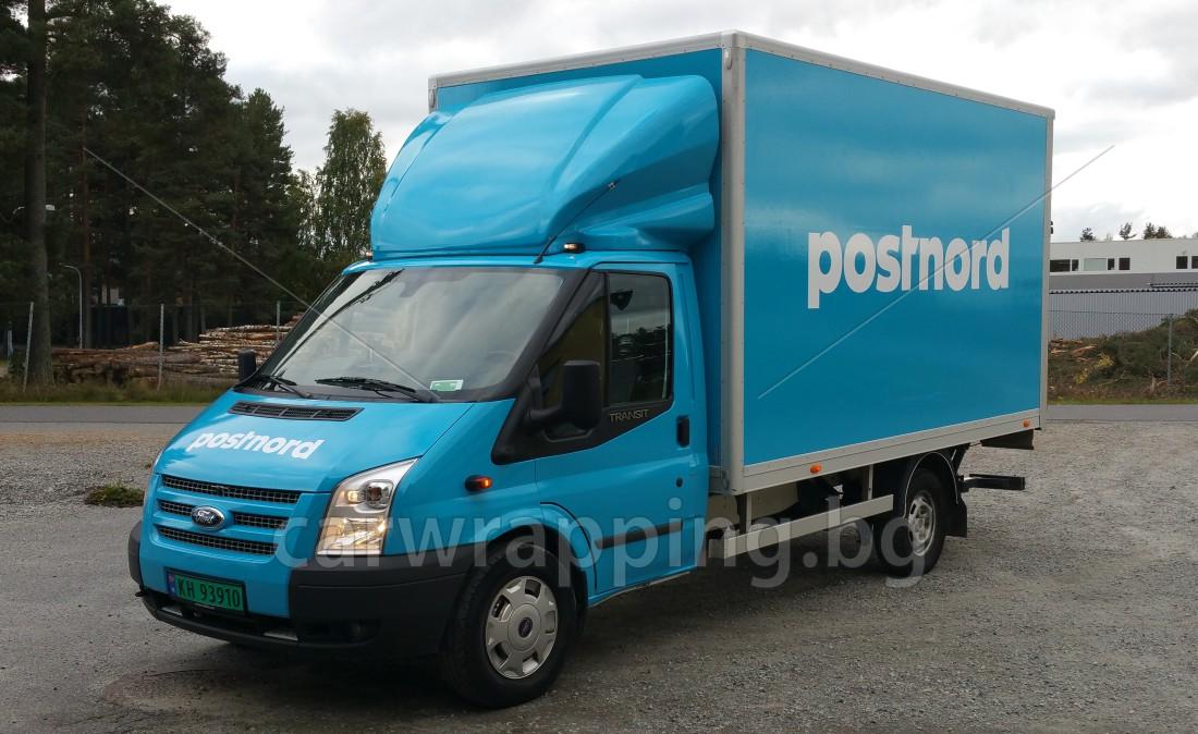Ford Transit Ice car - Postnord - 6