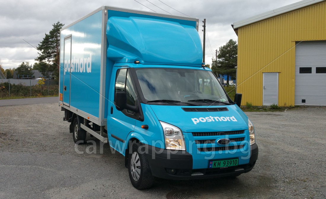 Ford Transit Ice car - Postnord - 7
