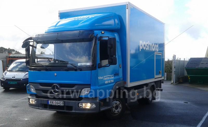 Mercedes Atego - Postnord - 1