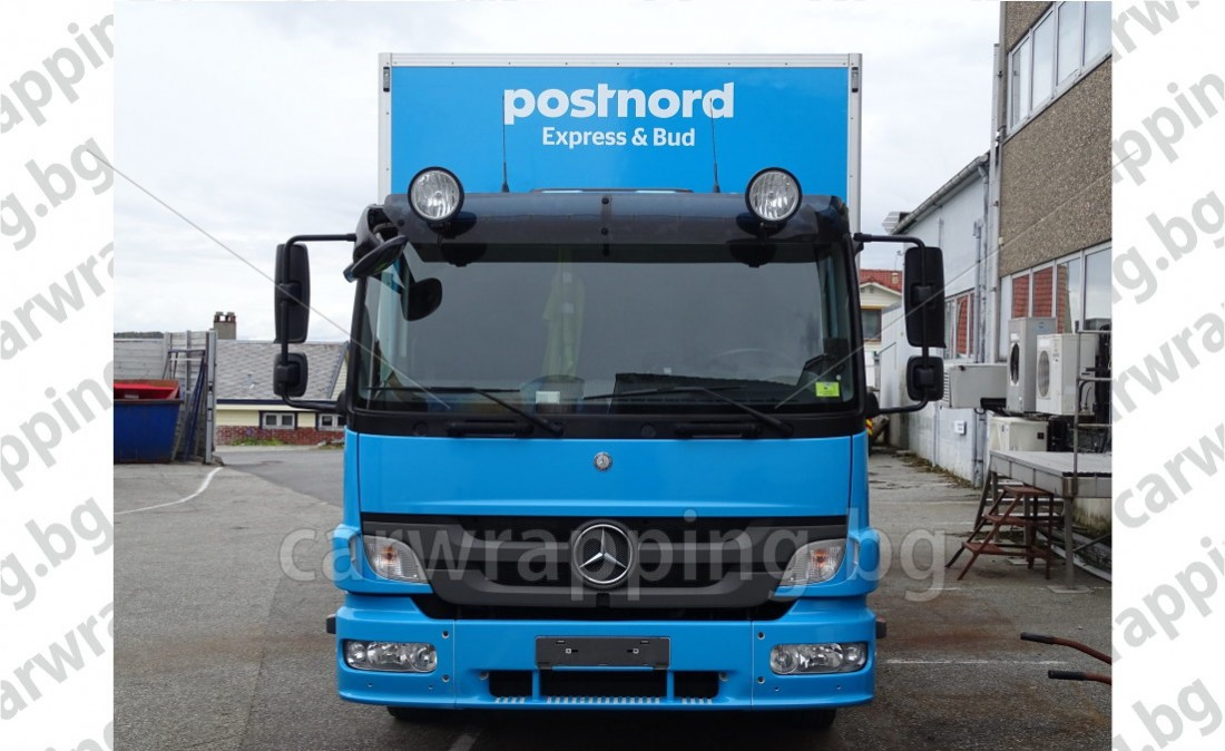 Mercedes Atego - Postnord - 14