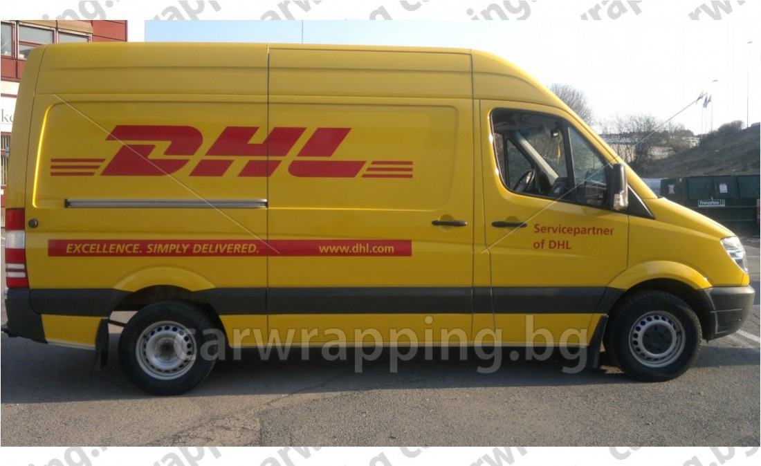Mercedes Sprinter - DHL - 7