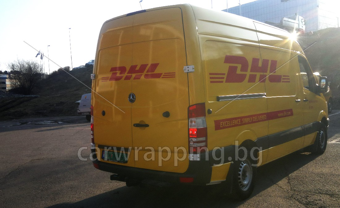Mercedes Sprinter - DHL - 8