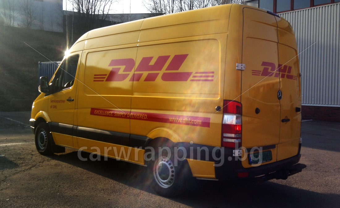 Mercedes Sprinter - DHL - 9