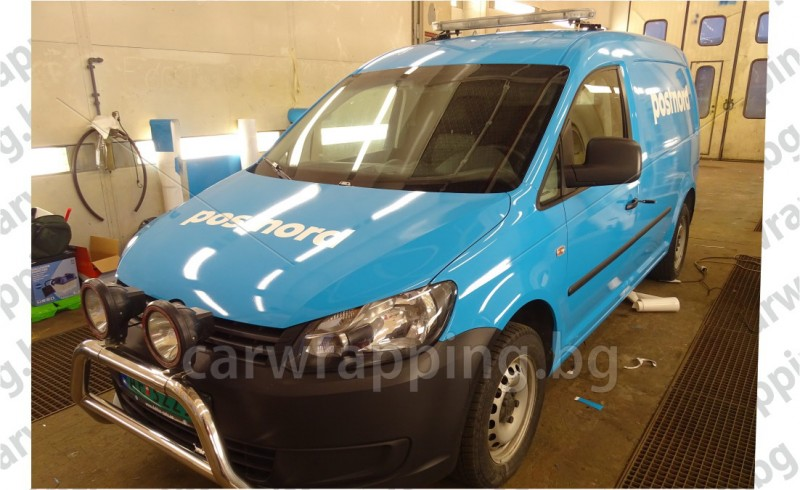 VW Caddy - Postnord - 1
