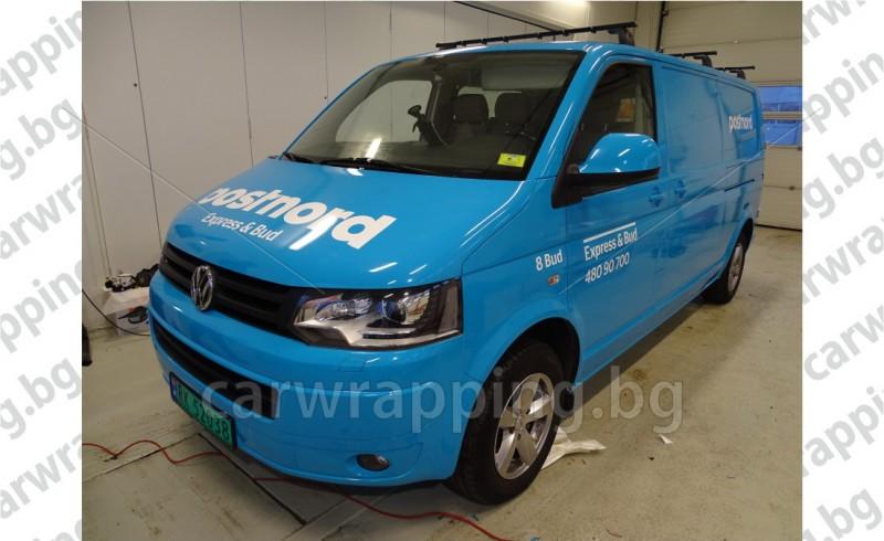 VW Transporter - Postnord - 1
