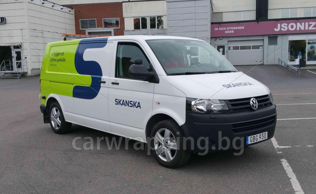 VW Transporter - Skanska_1